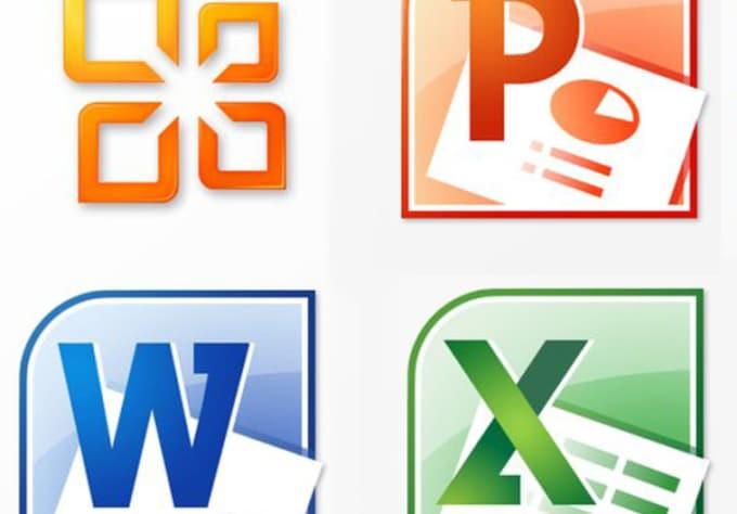 Logo design in microsoft word