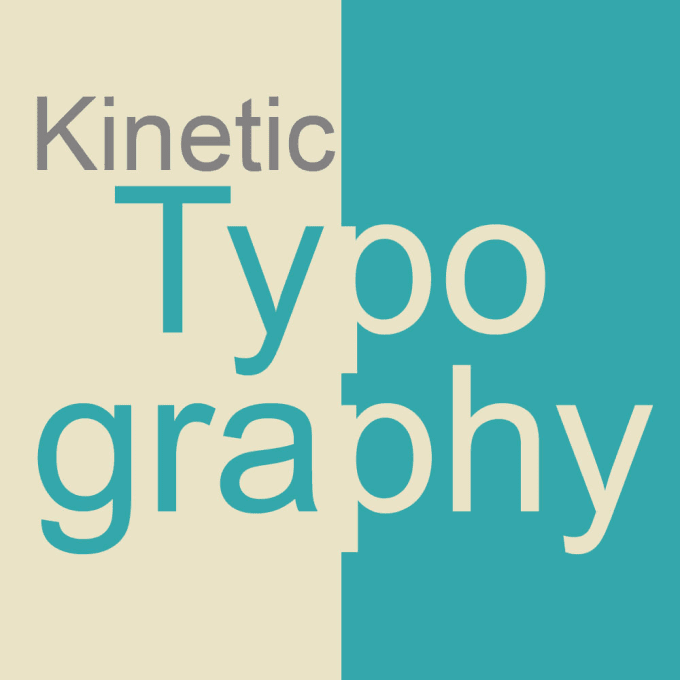 Kinetic Typography  Facebook