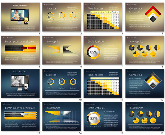 Advanced Powerpoint Templates