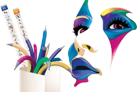 Graphic design for logo