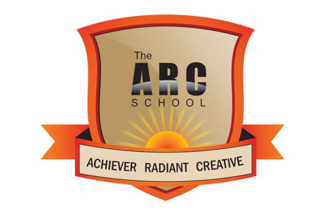 High school logo design