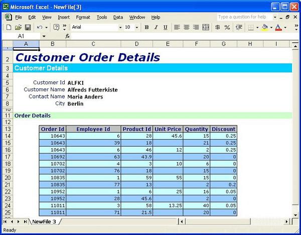 Microsoft excel worksheet examples