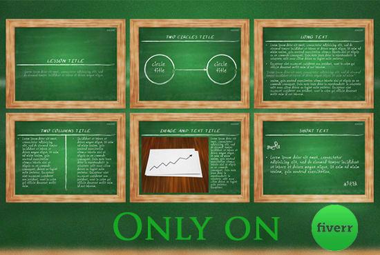 Chalkboard Powerpoint Template Free