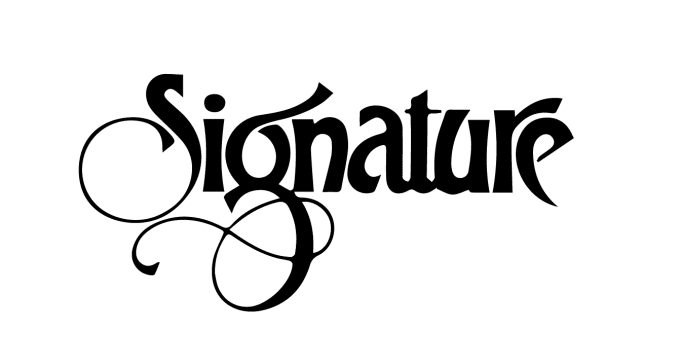 Signature Logo Design  Home  Facebook