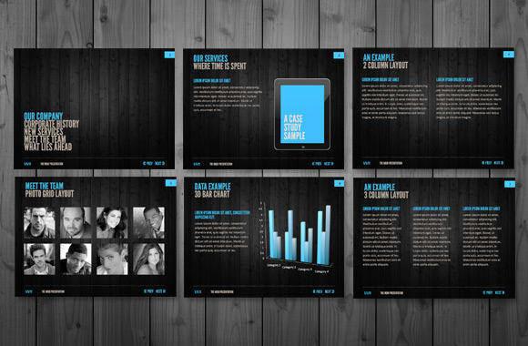 Modern Powerpoint Presentation Templates