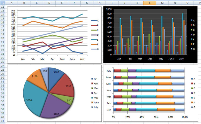 Create infographics in excel