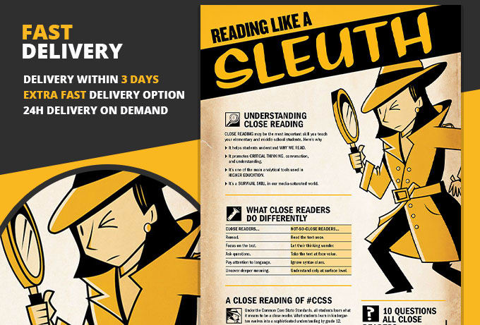 Infographic close reading