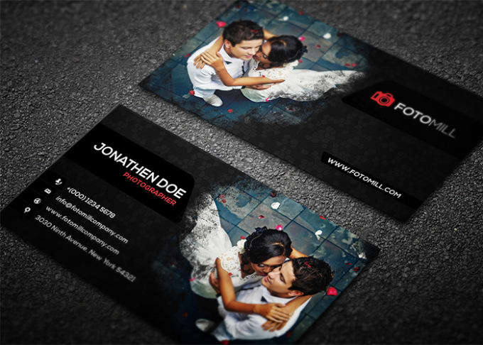 Business Card Template Photoshop Free