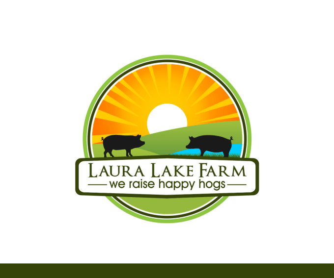 Farm logo design