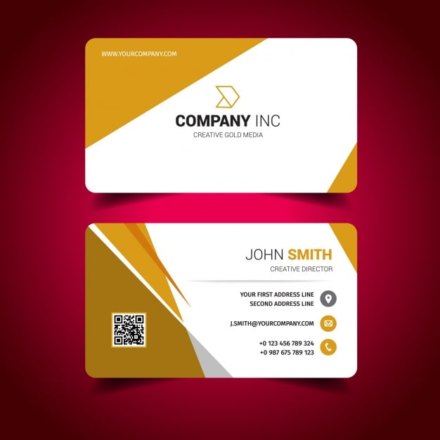 Free Sample Business Cards Templates