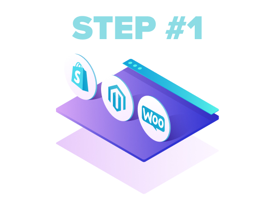 fiverr / E-Commerce LP  / Step 1 / Image