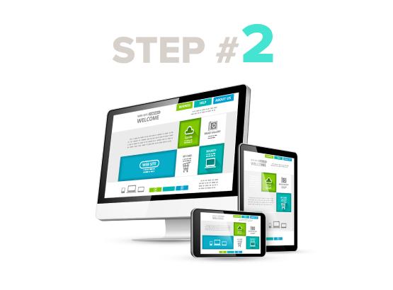 fiverr / Online services LP / Step 2 / Image