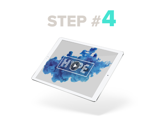 fiverr / Online services LP / Step 4 / Image