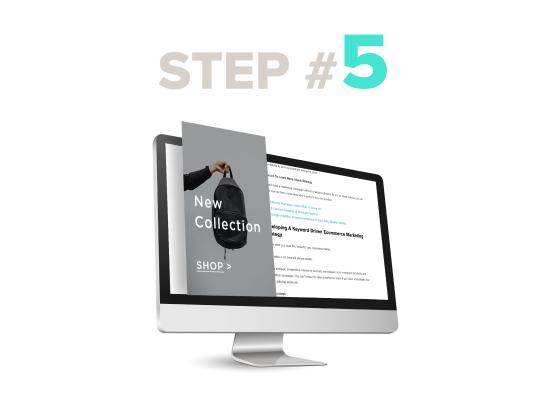 fiverr / Online services LP / Step 5 / Image