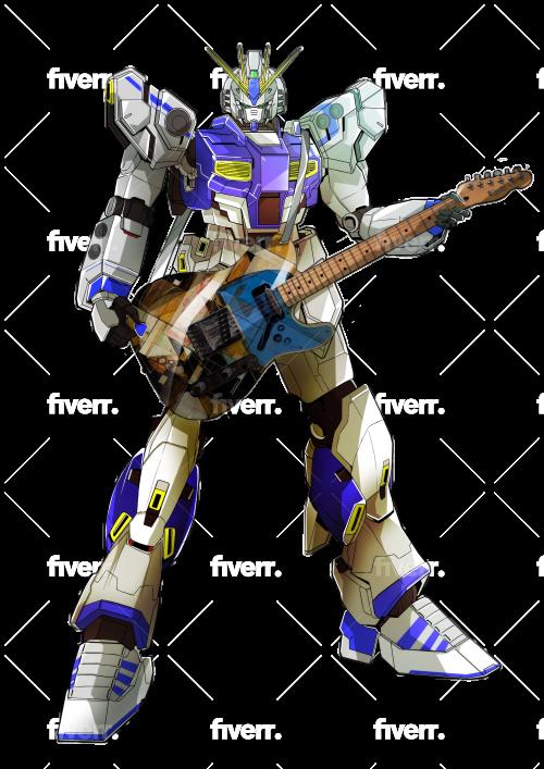 Draw Gundam Transformer Robot Armor Mecha In Detail By Oliver Artwork