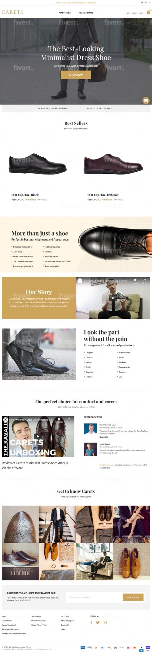 Carets Men's Shoe Store