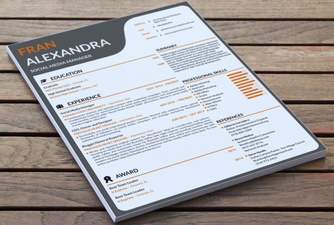 rewrite resume  design resume  cv  cl  resume design and