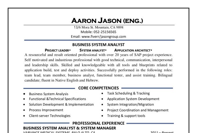write resume  linkedin  cover letter perfectly by jasongroup