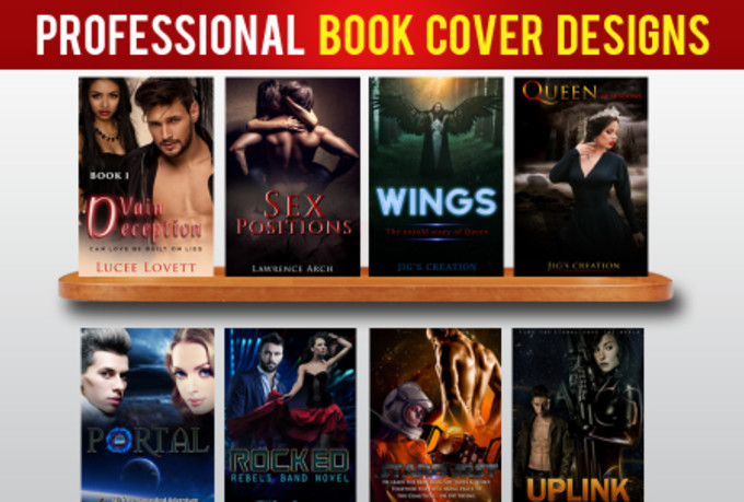 Kindle Book Cover Design ~ Design professional ebook cover or kindle by