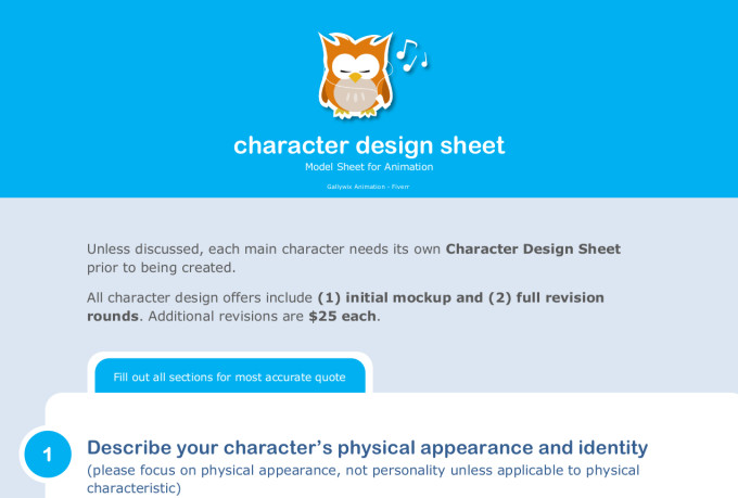 Character Design For Animation Pdf : Create custom animated assets for your project or video by