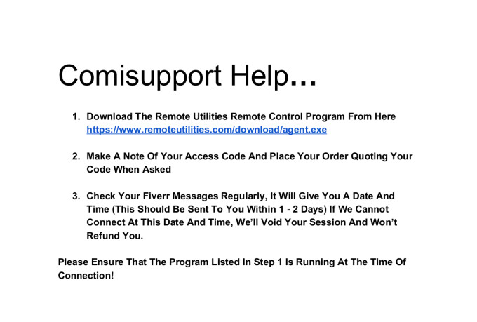 fix Your Computer Remotely