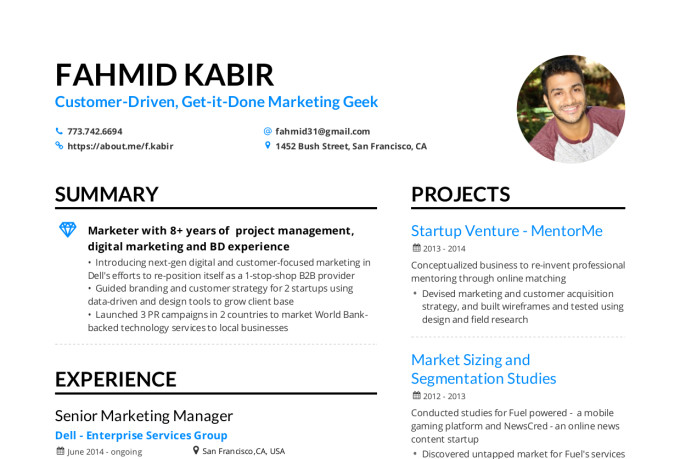 create a winning resume  linkedin  and cover letter for