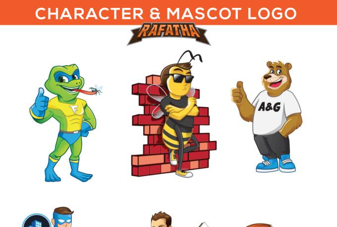 Character Design Process Pdf : Create cartoon character or mascot logo by rafatha