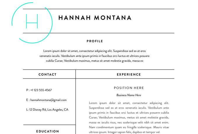 Redesign Your Resume To Look Current