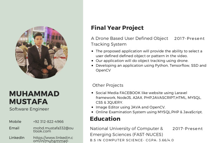 mustafa_hazara : I will make professional resume, poster and presentation  for $5 on www fiverr com