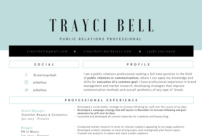 flawless resume and cover letters