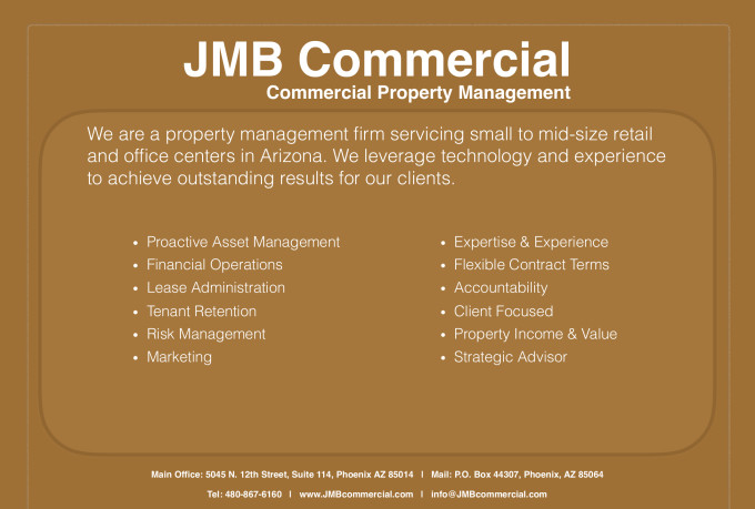 offer commercial real estate services
