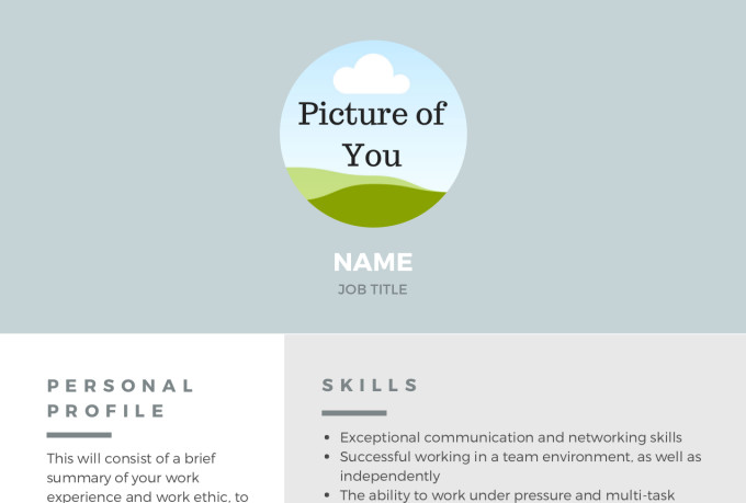 Create a resume and optimize your linkedin profile by Shreeragh
