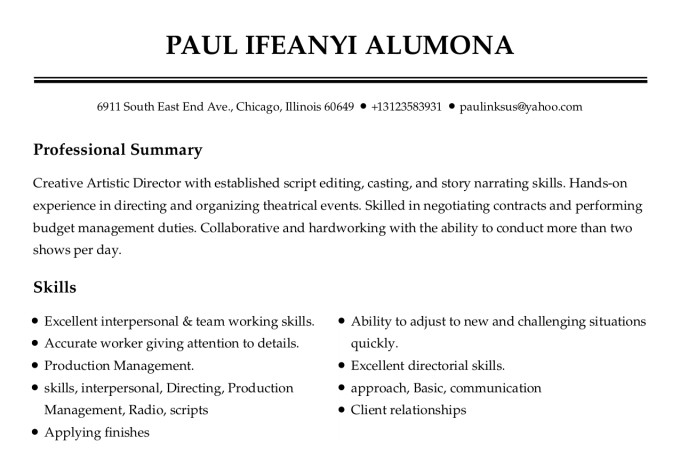 Write eye catching professional resume and cover letter by Morganpaulo