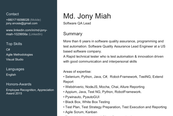 jony66629 : I will automate test cases with selenium for $50 on  www fiverr com