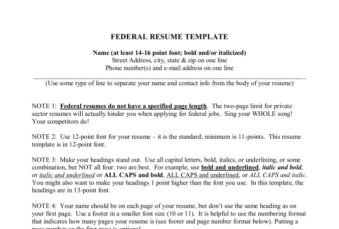 Write Federal Resume For Your Targeted Job Usajobs By Clementina01