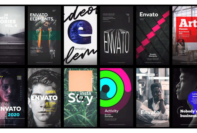design animated instagram stories in 8 hours