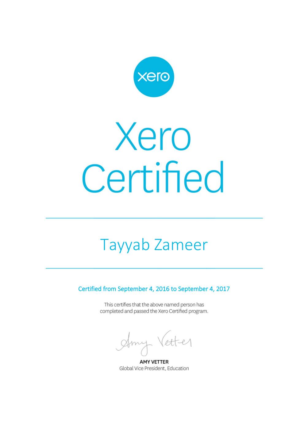 Provide You Xero Services As I Am Certified Xero Advisor