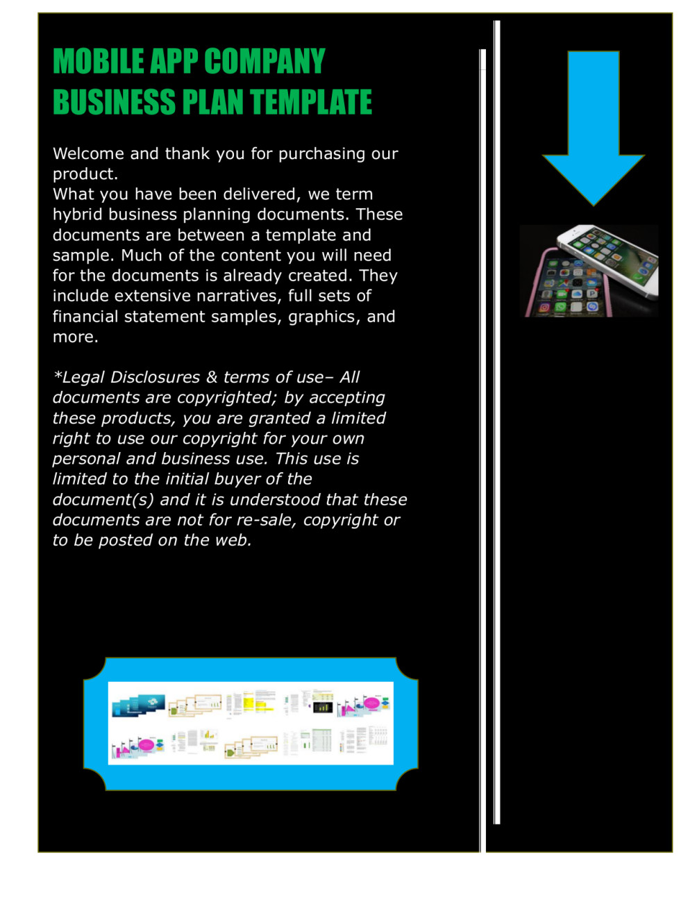 Mobile App Business Plan Template Fiverr - Business plan template app