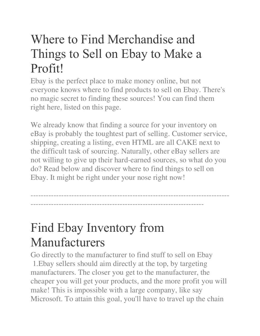 Suggest Hot Trending Potential Product Item For Ebay Amazon Sourcing Inventory By Amircan