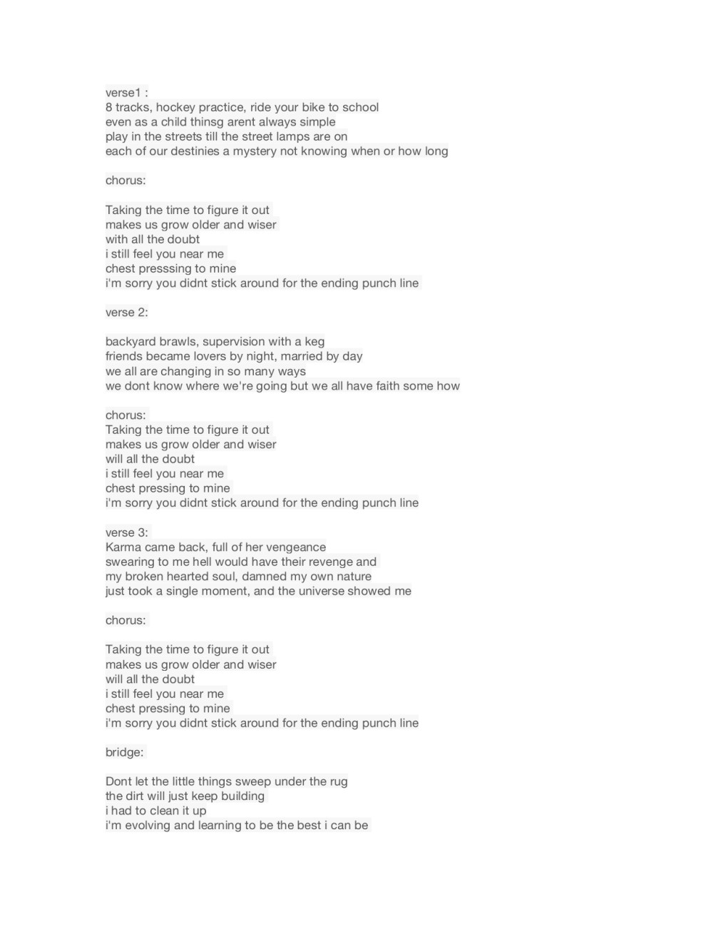 Write you any kind of song for 20 dollars by mh213814 ccuart Images