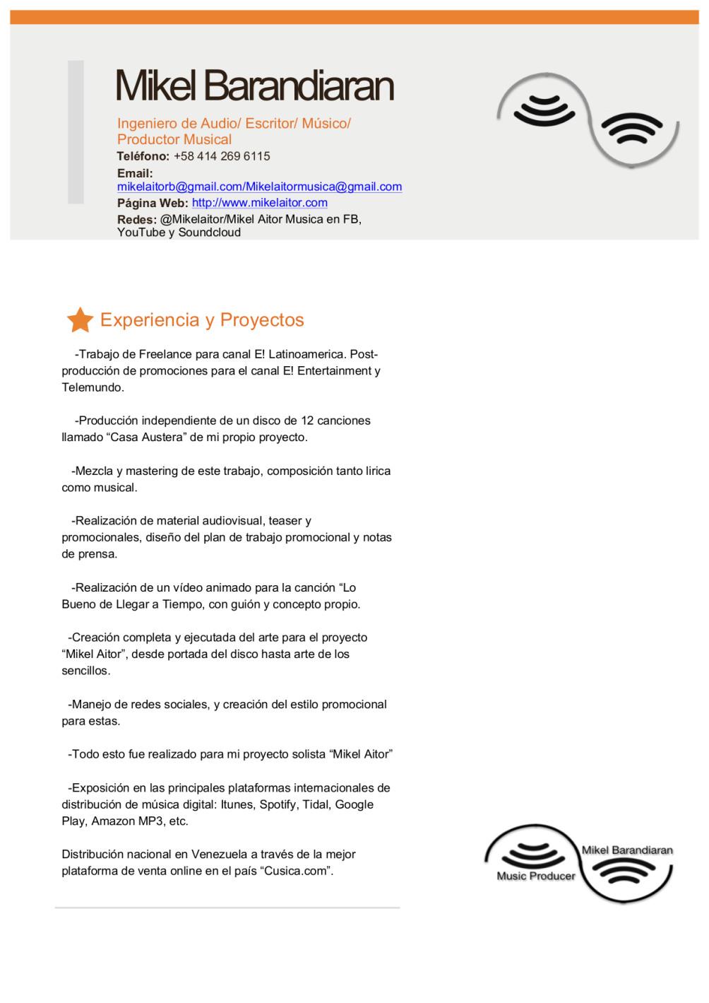 curriculum vitae aitor mp3