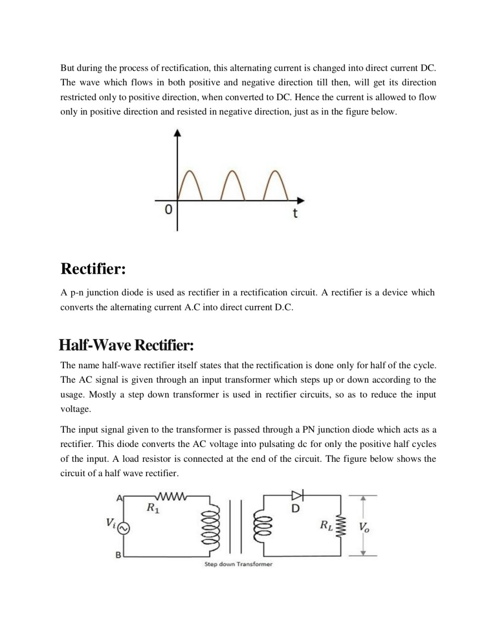 Assist You In Electronics Engineering Research Work By M Saad Khan Circuit Positive And Negative Half Cycles Halfcycle