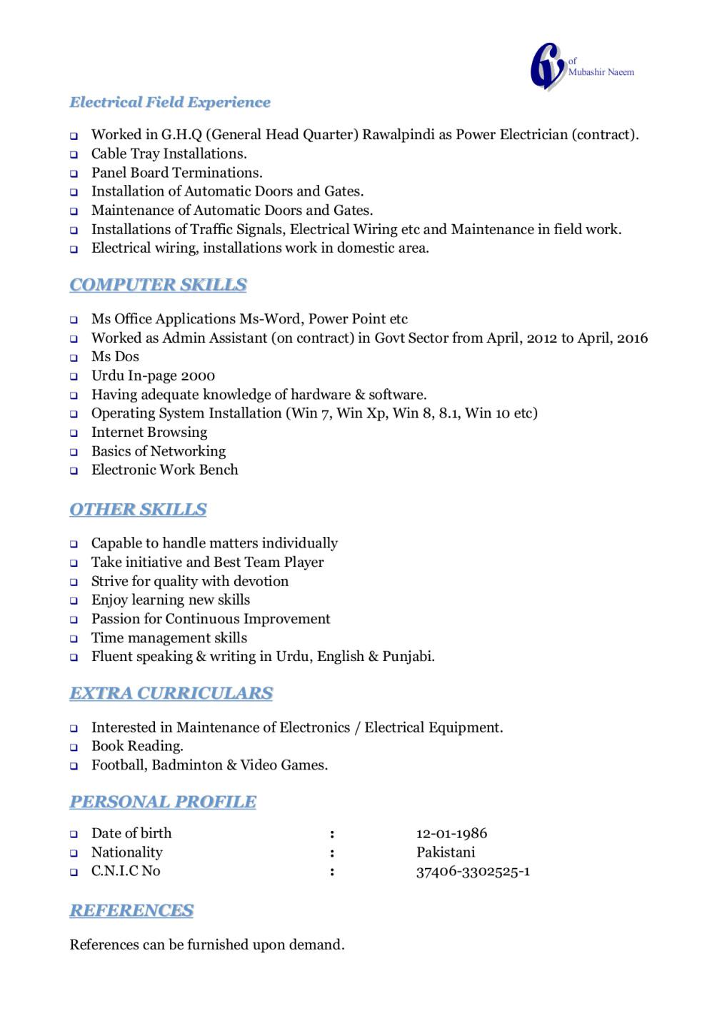 Job Will Be Done As You Want By Mubashirnaeem Electrical Wiring Book Urdu