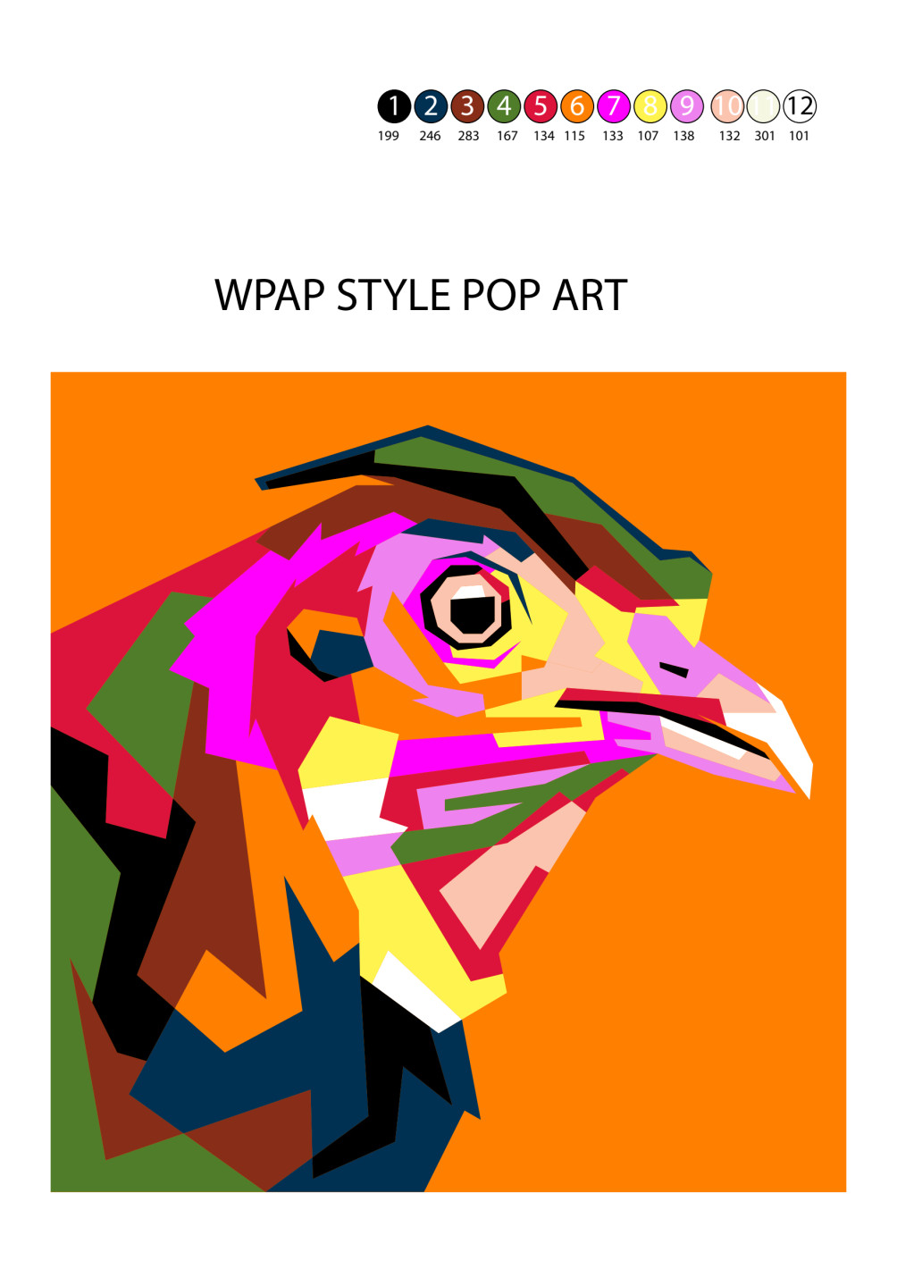 Make Custom Pop Art Design For Paint By Number By Asnan Aandd Custom paint by number generator. make custom pop art design for paint by number