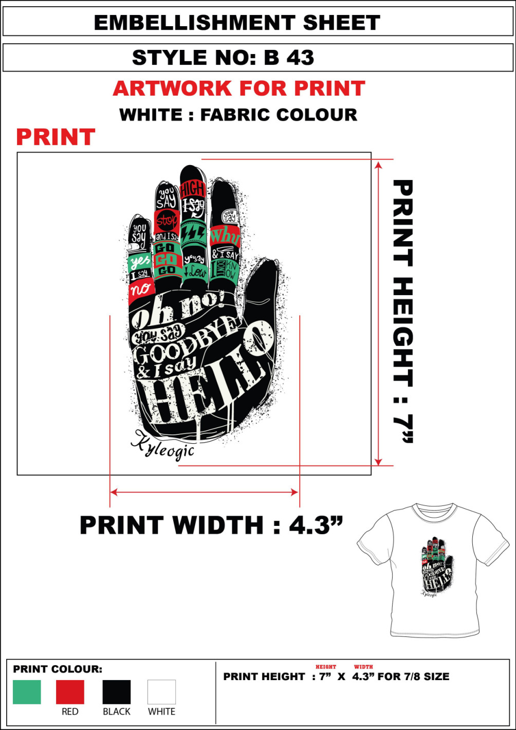 Do t shirt designs for your ideas and references by Karty94