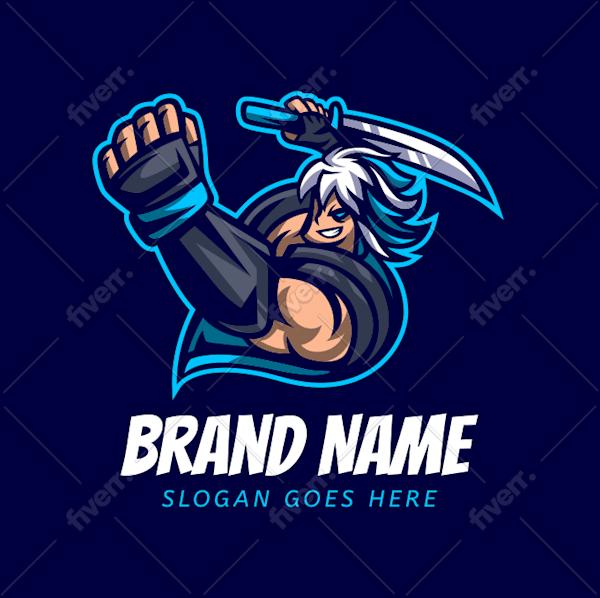 Fortnite Esports Logo Night Light Gaming Logo Maker Create A Gaming Logo Fiverr