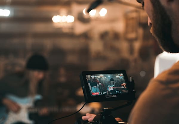 live streaming a business event