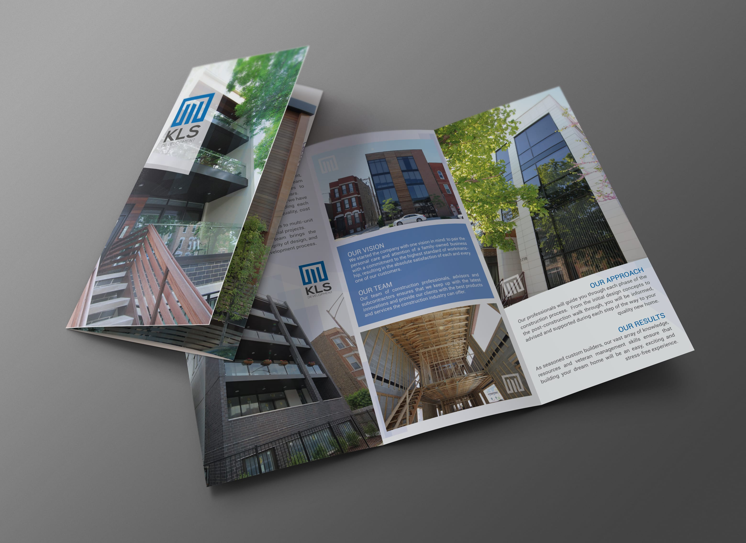 design professional business trifold brochure by mutesoft