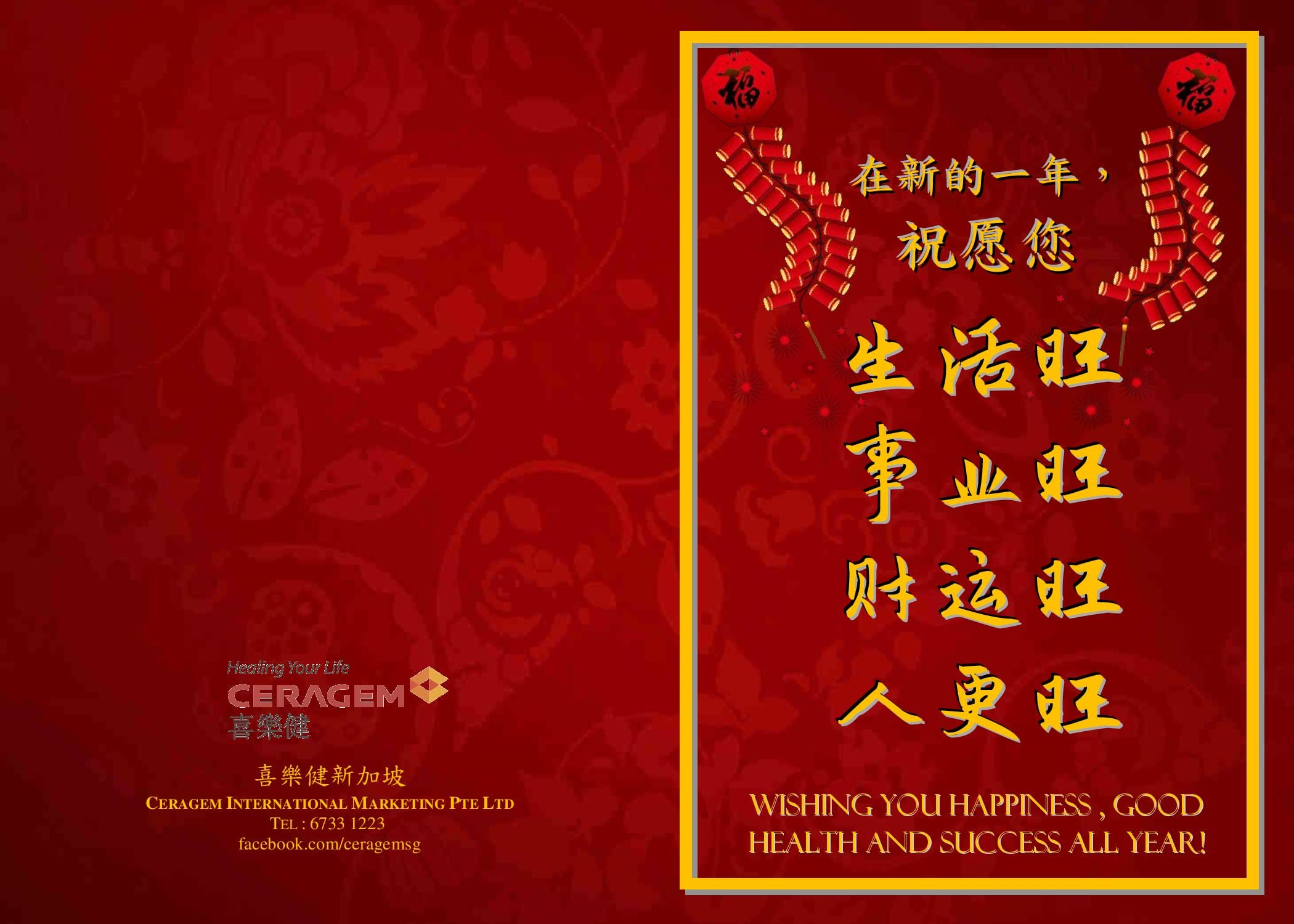 Create A Festive Chinese New Year Greeting By Stellarboy0629