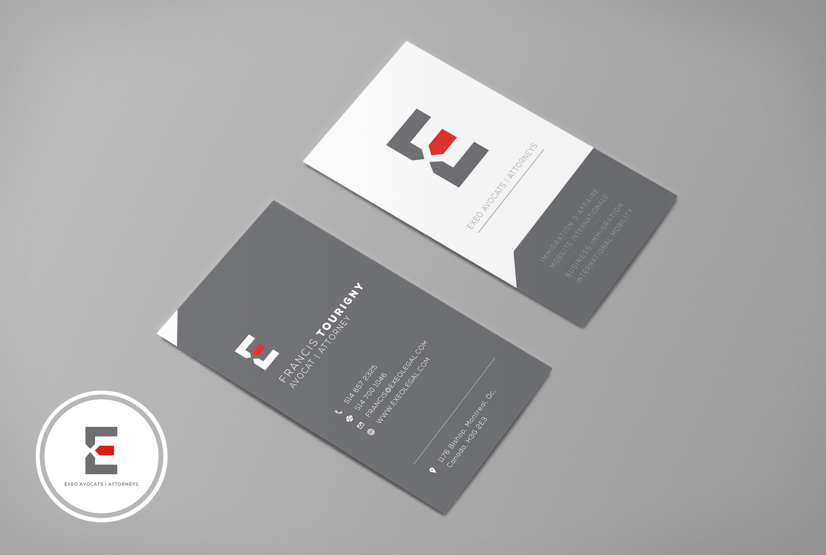 Minimal business card design fiverr reheart Images